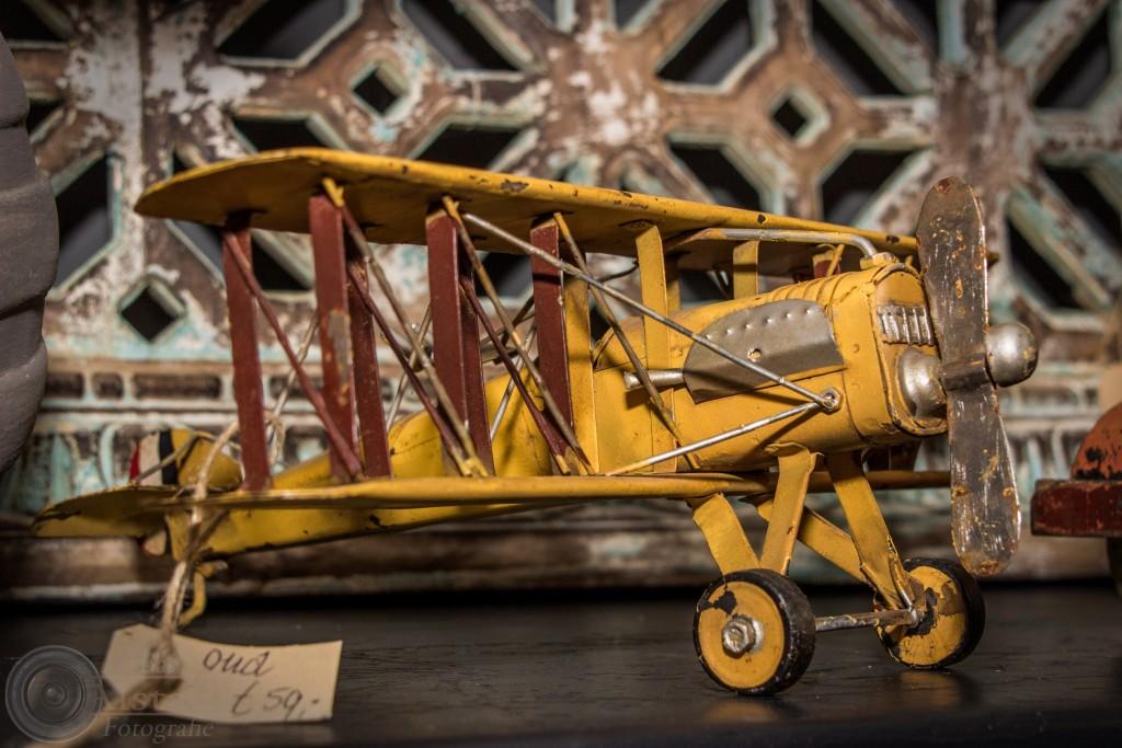 Heydenrijck, detail vliegtuigje