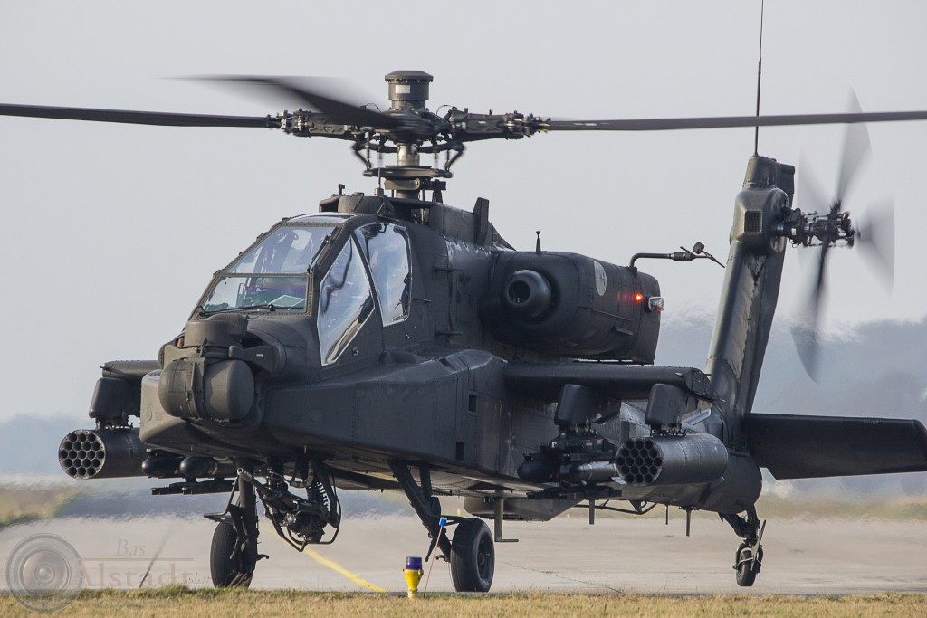 Muscled helicopter