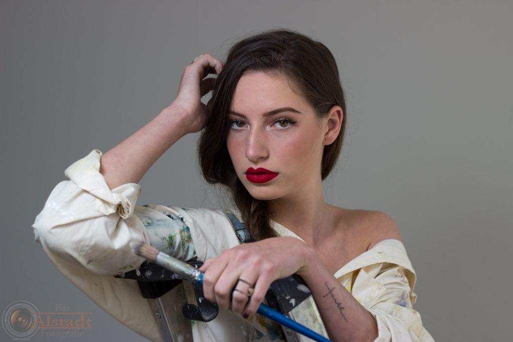 Model: Evy MUAH: Maaike